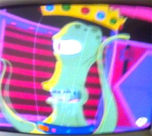 Alien de Homer