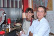 Elena y Alma en ALMA: RINCÓN GASTRONÓMICO, BRASERÍA