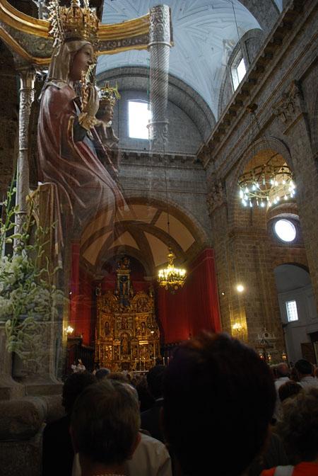 Virgen de San Lorenzo patrona de las Ferias y Fiestas de Valladolid