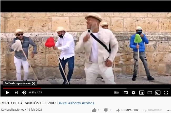 Tu Me quieres pegar el Virus Divertido Vídeo Clip en YouTube Original Dirigido Producido Cantado por Giorgi López EL Tizón.jpg